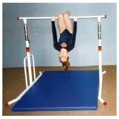 """Gymnastics Apparatus Horizontal And Training Bars 60 Adjustable Horizontal Bars - 60"""" Free Standing Horizontal Bar - Galvanized"""