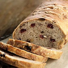 NO-Knead Harvest Bread ~ Plan ahead for this easy bread—an overnight or all-day rise gives it terrific flavor. For the best crust, bake in a ceramic bread crock, or a covered clay baker.