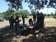 Magnifica batalla en Gran Paintball Madrid el 4 de Junio de 2015