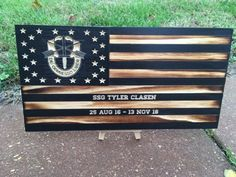 This item is unavailable Military Home Decor, Marine Flag, All Flags, Wood Flag, Army Mom, Diy Papier, Floating, Special Forces, American Flag