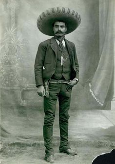 fuckyeahlatinamericanhistory: Today In Latin American History Mexican revolutionary Emiliano Zapata was shot to death in the state of Morelos on April 10, 1919 at age 39.