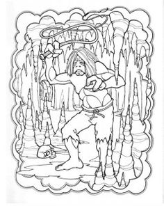 The Fly by Mark Savee / MONSTER GALLERY coloring book / Troubadour ...