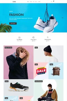 """Coro is a clean, minimal, creative and modern eCommerce theme for WordPress platform. Powered by WordPress' most popular eCommerce platform """"WooCommerce"""", Coro can be the too Minimal Web Design, Ui Design, Wordpress Theme Design, Web Design Services, Ecommerce Platforms, Hats For Sale, Website Design Inspiration, Landing, Flexibility"""
