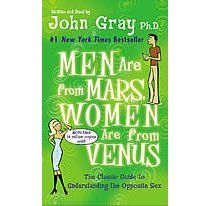 Men are from Mars Woman are from Venus. I know, we have all heard of it. I have heard it be referenced a million times, it's been around for about 12 years and I just haven't read it until now, maybe cause I never had to. But I'm sure glad I did, There's a reason it sold over 14 million copy's. It really is a better way to understand the opposite sex. Everyone should read it, it's for single people too.