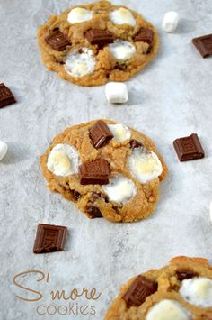 S'mores Cookie Recip