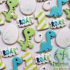 Stomp, chomp, ready for fun, someone is turning ONE! Inspo from .