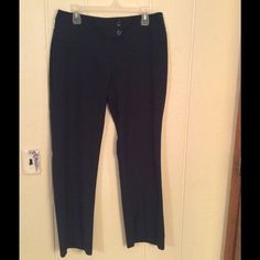 Navy dress pants EUC navy dress pants women's petite . Material poly rayon and spandex. Chadwicks Pants Trousers