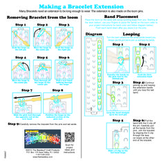 Wonder Loom Instruction Sheet - Page 2