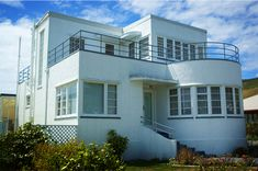Art Deco house, Nelson.....inspiration for dollhouse
