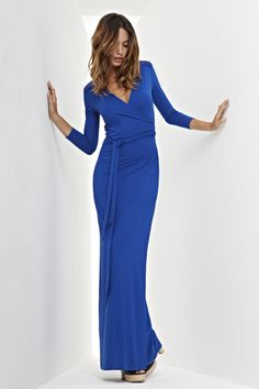 Rosie Maxi Dress | Baukjen  <3<3<3  Love this dress in black and even more in blue   #HolidayStyle12