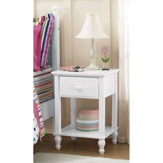 Kylie Collection Nightstand, Multiple Colors