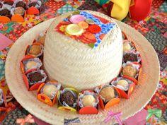 Enfeites de mesa para festa junina
