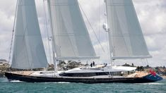 """Our definitive list of the top 50 largest sailing yachts in the world, including Maltese Falcon and Sybaris - p4: Mikhail S. Vorontsov 