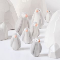 """623 mentions J'aime, 5 commentaires - Sara Theron (@dodo_toucan) sur Instagram : """"L'´hiver approche à petits pas ❄️ #dodotoucan #pingouin #banquise #polenord #northpole #céramique…"""""""