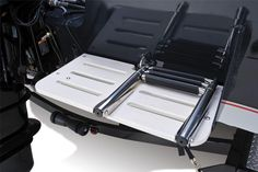 Tracker Targa 18 WT 2013 The aft swim platform and fold-down ladder make it easy to reboard after a relaxing dip in the water Aluminum Fishing Boats, Tracker Boats, Jon Boat, Bass Boat, Ladder, Dip, Platform, Easy, Fishing Boats