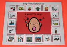 Song Communication Board ~Download~ $2.00