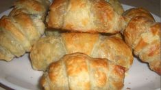 P - Mňamky-Recepty. Russian Recipes, Ciabatta, Baked Goods, Food And Drink, Bread, Cheese, Meals, Baking, Cake