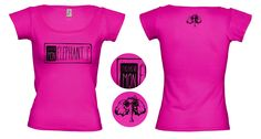 """Tee-shirt femme Rose Chardon Création de t-shirts avec des créateurs du collectif """"T'as pas vu mon éléphant?"""" Site de créations fait main et d'illustrations. www.tpvme.com"""