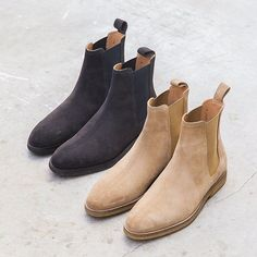 The @marcwenn Chelsea Boots available now at www.marcwenn.com #chelseaboots Credit: High Fashion Men