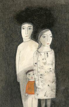 Affiches, magazines, autres (commission) by Manon Gauthier, via Behance