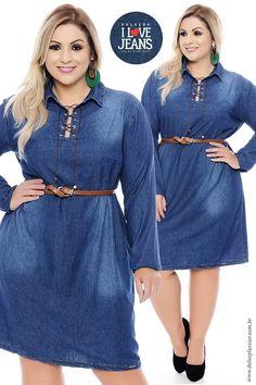 Coleção I Love Jeans Plus Size - daluzplussize.com.br