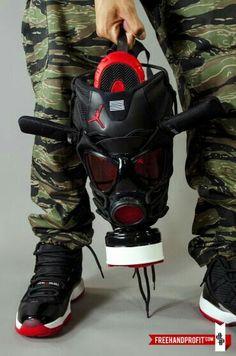 Jordan gas mask..