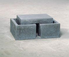 Joachim Bandau, Bunker IV, 1978 - Concrete architectural model