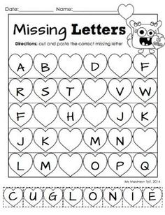 Letter Tracing Worksheet  Printable Worksheets