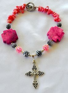 Little Cowgirls Chunky Pink NecklaceWhat Cowgirls Want