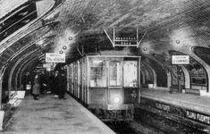Estación de la Linea 1 Atocha - Cuatro Caminos en el año 1932