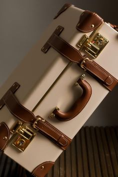 SteamLine Luggage Diplomat - my dream is to have the carry on and the attaché/ train case. Love this luggage! Luxury Luggage, Travel Luggage, Travel Bags, Travel Backpack, Luxury Travel, Vintage Suitcases, Vintage Luggage, Cute Luggage, Luggage Bags