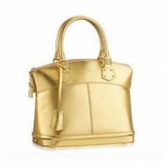4251097cec46 ... ルイヴィトン リュックサック · Louis Vuitton Suhali Leather Handbag Golden LV M95434