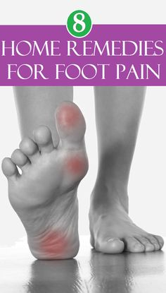 8 Best Home Remedies for Foot Pain..Ⓜ️