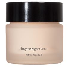 Enzyme Night Cream Replenishing moisturizer gently exfoliates and helps boost cell turnover. Nourishes and renews skin with advanced hydration and conditioning. Smoothes skin and enhances radiance for a clearer, brighter, more youthful complexion. Paraben-free. www.warpaintskincare.com