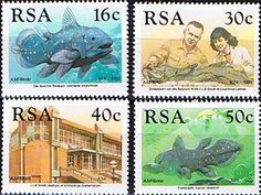 South Africa 1988 Discovery of Coelacanth Set Fine Mint SG 677 80 Scott 762 5 Condition Fine MNH Only one post charge