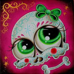 Sugar Skull Art | Pictures Collection Of Sugar Skull Art Tattoos Makeup And More Reality ...