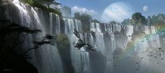 Kxor! Waterfall!