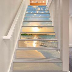 Panorama Design Treppe Foto Maritime Deko Ideen