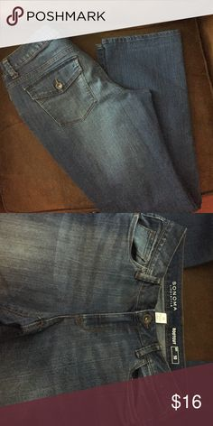 Sonoma Bootcut Jeans Women's Sz 10 NEW These were never worn, however, tags were removed and they were washed and dried. Posting other clothes today that I recently purchased that no longer fit. All are either new or were worn once or twice. Smoke free home. Sonoma Jeans Boot Cut