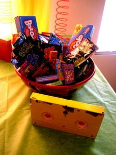 Awesome 80's (1980's) Theme & Birthday Party Ideas |
