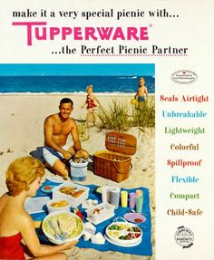 Visit my Tupperware site for this week's specials, flyer, and new products. Independent Consultant : Tupperware By Traci Retro Advertising, Retro Ads, Vintage Advertisements, Vintage Ads, Vintage Posters, Retro Food, Vintage Phones, Vintage Tools, Vintage Tupperware