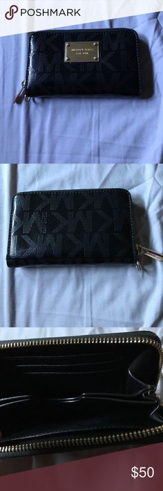 Michael Kors cell phone wallet Black Michael Kors cell phone wallet KORS Michael Kors Accessories Phone Cases