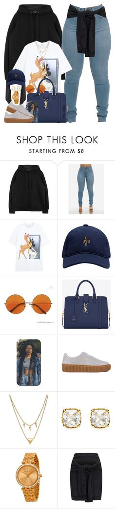 """""""Shawty Wanna Be My Wife"""" by dope-madness ❤ liked on Polyvore featuring Givenchy, October's Very Own, Yves Saint Laurent, Puma, Edge of Ember, Juicy Couture, Michael Kors and Boohoo"""