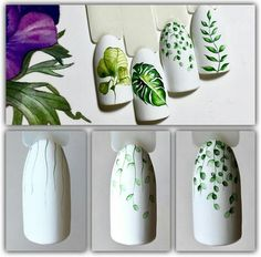 Fashion trends summer manicure new photos Flower Nail Designs, Flower Nail Art, Nail Art Designs, Nails Design, Tropical Flower Nails, Nailart, Bright Summer Nails, Acrylic Summer Nails Beach, Super Nails
