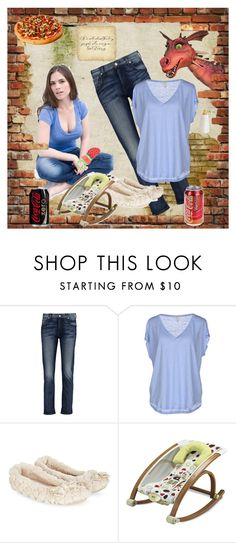 """""""Kind of crazy"""" by sasane ❤ liked on Polyvore featuring Atwell, 7 For All Mankind, Joie, Monsoon and Equipment"""