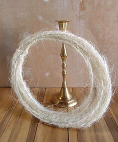 Natural Sisal Covered Wire Roping x 33 FT, Floral Supplies Sisal Twine, Save On Crafts, Fabric Suppliers, Floral Supplies, How To Make Wreaths, Event Decor, Wedding Flowers, Craft Projects, Floral Design