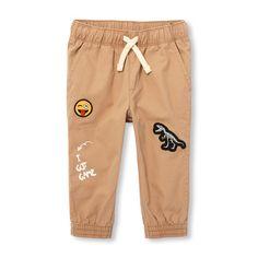 LETE Big Boys Girls Casual Jogger Soft Training Pants Elastic Waist Social Come Distortion