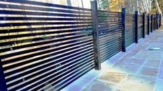 Semi-Privacy Wood Fencing