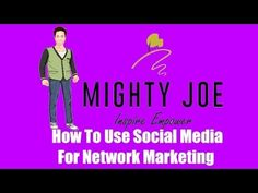 How To Use Social Media For Network Marketing - http://videos.pbntrustmachines.com/uncategorized/how-to-use-social-media-for-network-marketing/