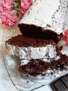 Prawdziwie czekoladowa babka | Słodkie okruszki